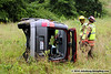 8/18/2010 Roll Over on Flat Iron Rd :